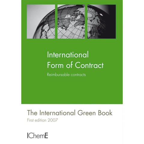 The International Green Book, Reimbursable Contract, 1st Edition, 2007, printable PDF