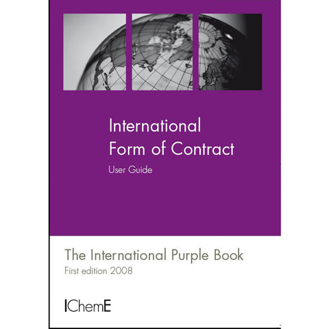 The International Purple Book, International Form of Contract User Guide, 1st Edition, 2008, paperback