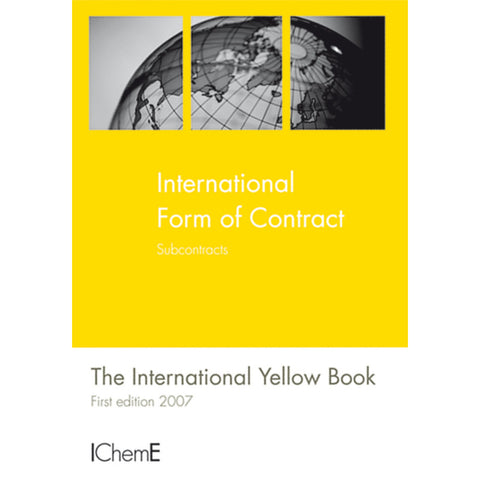 The International Yellow Book, Subcontracts, 1st Edition, 2007, paperback