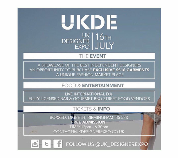 Catch us at UKDE on the 16th July