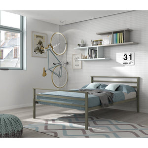 Bed met metalen frame Perfecta