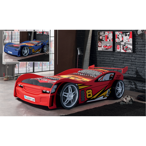 raceauto bed rood