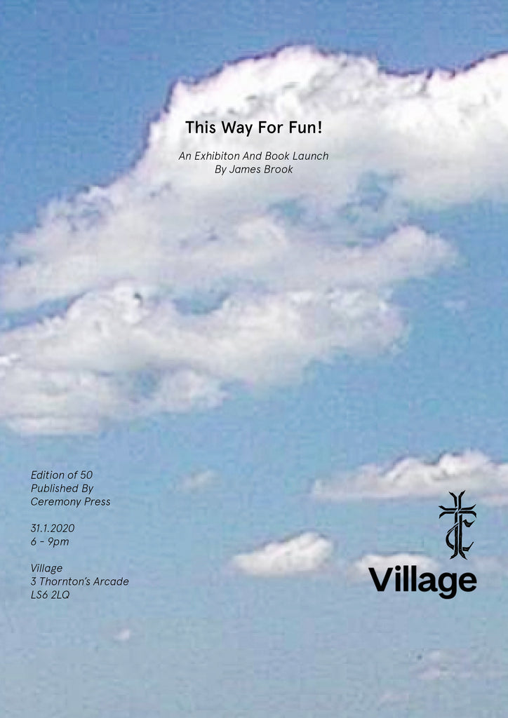 This Way for Fun! Book Launch & Exhibition by James Brook      	srcset=