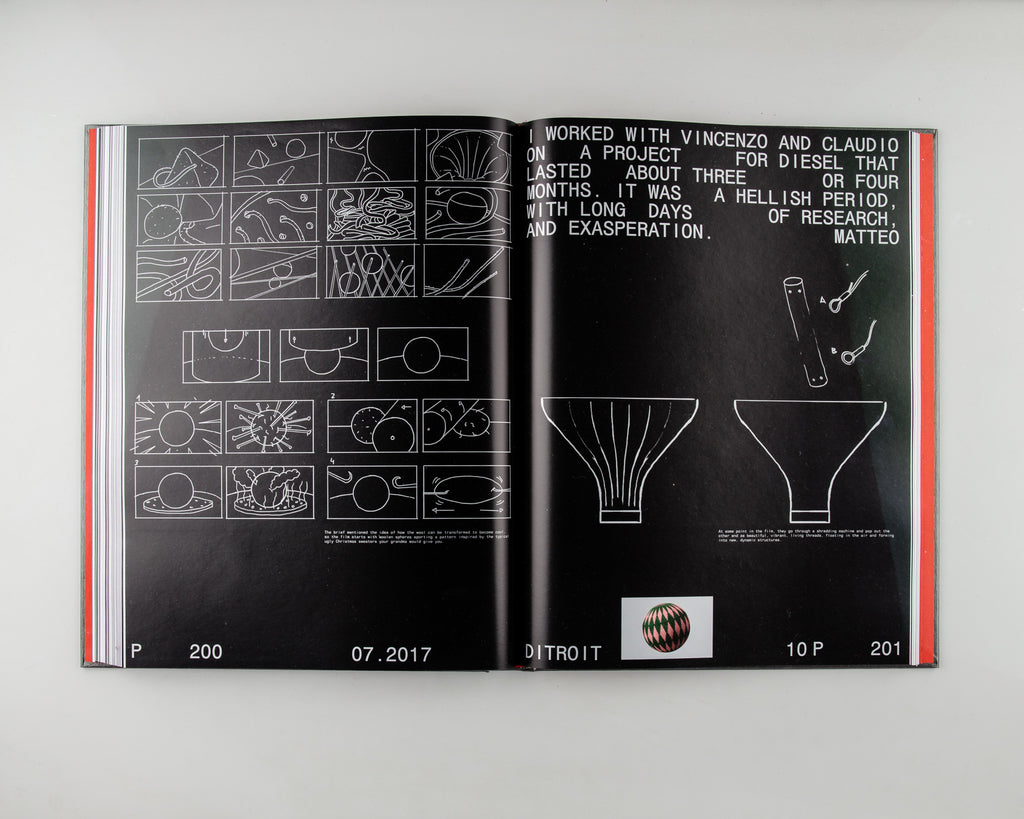 Ditroit: Ten Years by Editited by Davide Giannella & Ada Korvafaj - 9