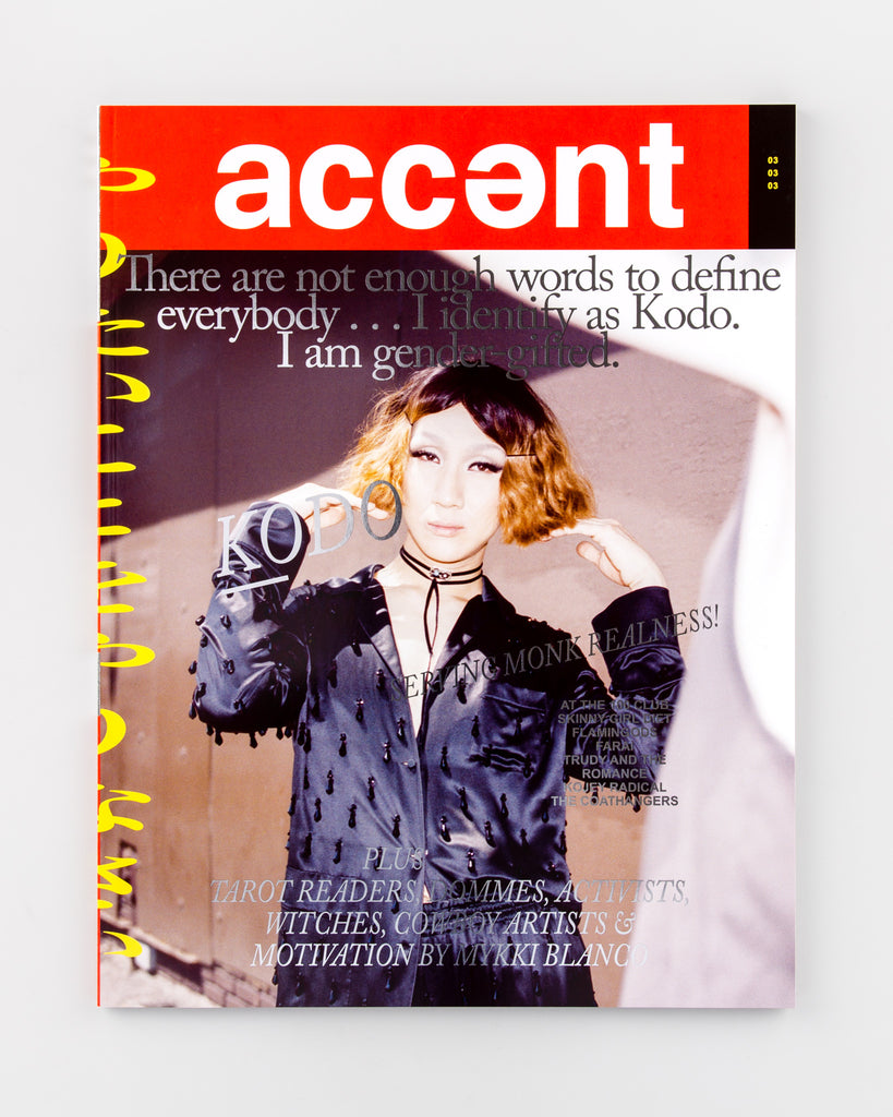 Accent Magazine 3 - Cover