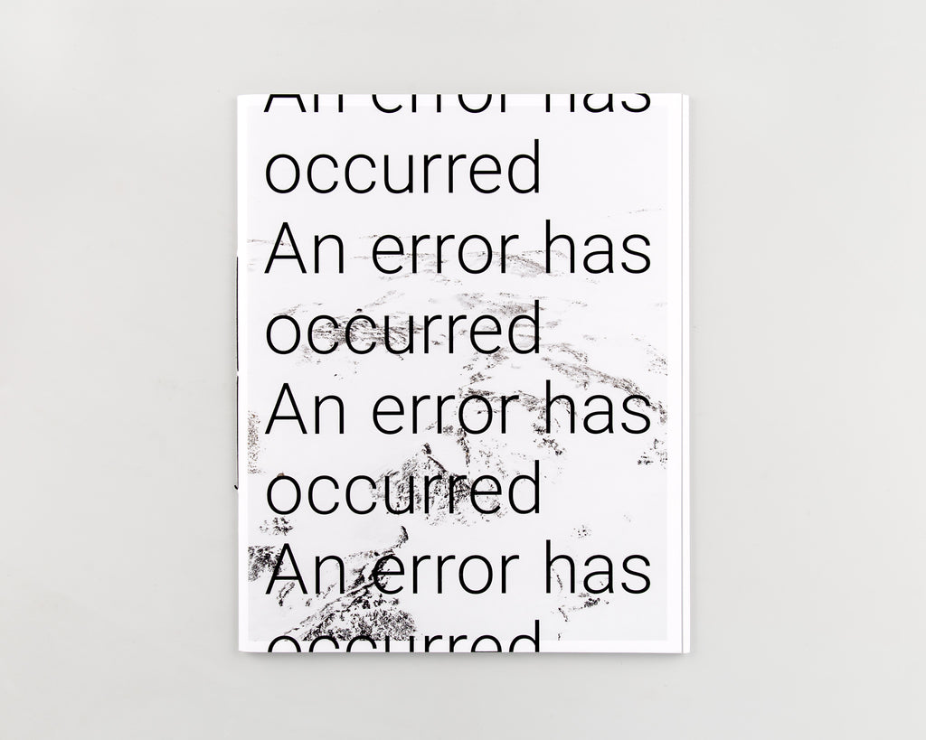 An error has occurred by Rohan Hutchinson - 205