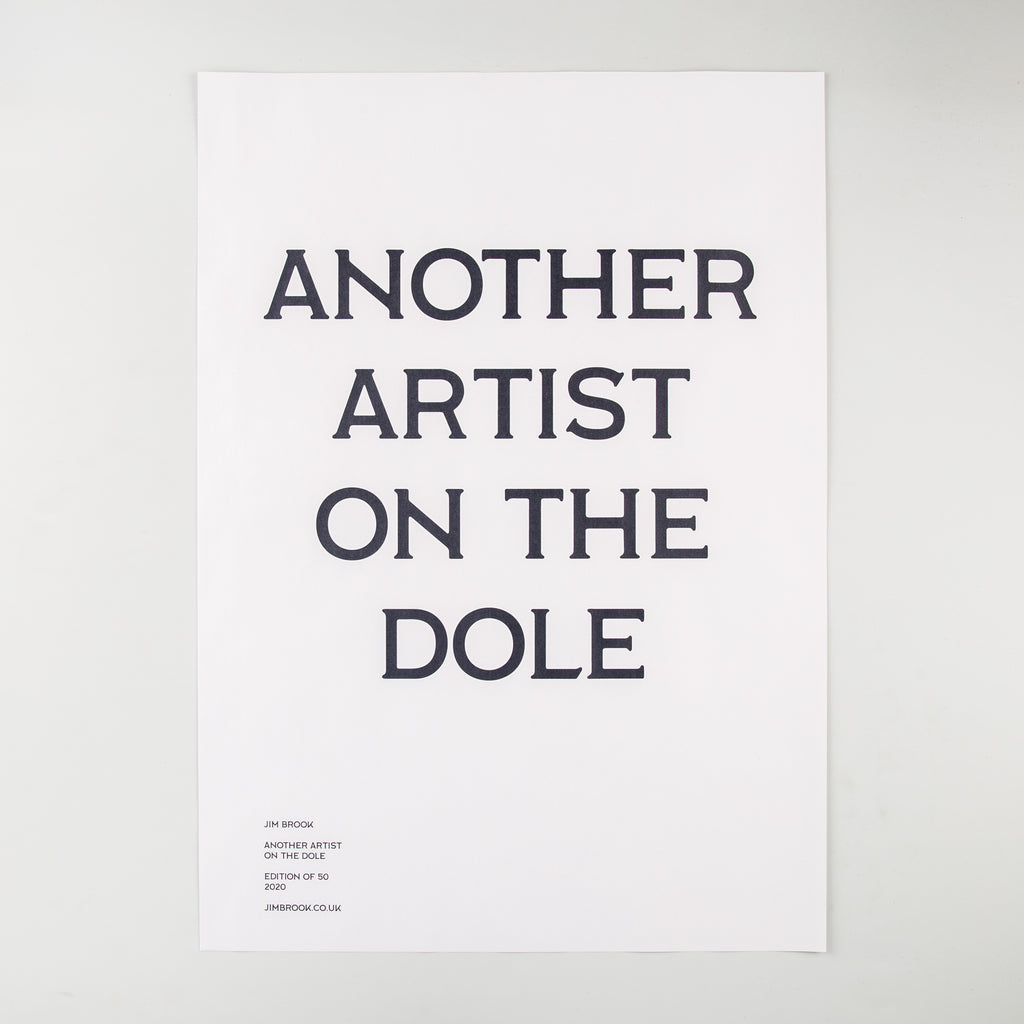 Another Artist on The Dole by James Brook - 1