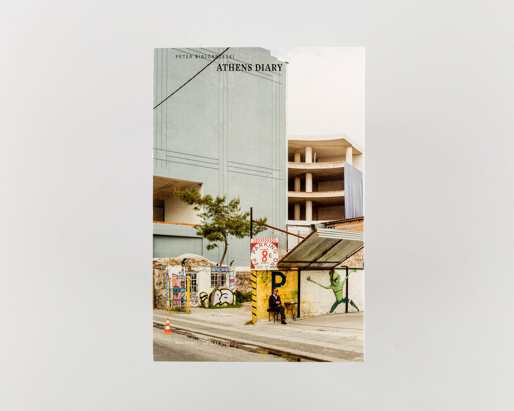 Athens Diary by Peter Bialobrzeski - Cover