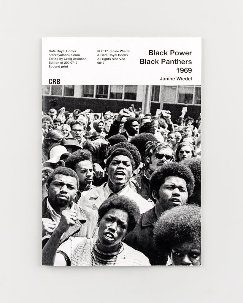 Black Power Black Panthers 1969 by Janine Wiedel - 596