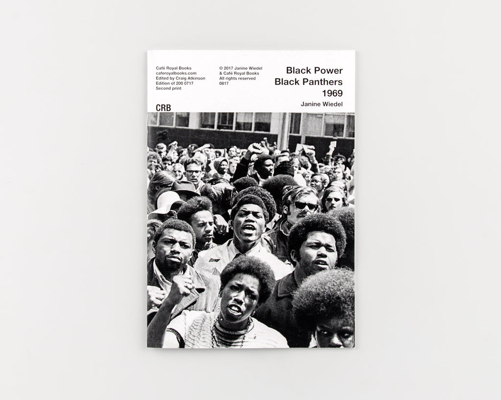 Black Power Black Panthers 1969 by Janine Wiedel - 550