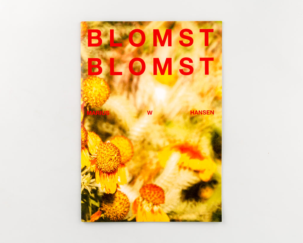 Blomst Blomst by Marius W Hansen - Cover