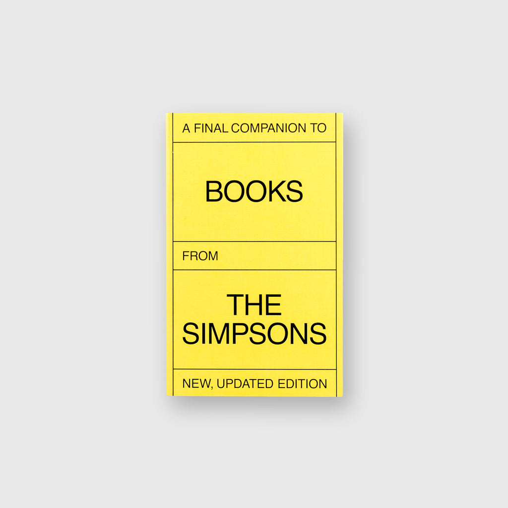 A Final Companion To Books From The Simpsons by Olivier Lebrun - 1