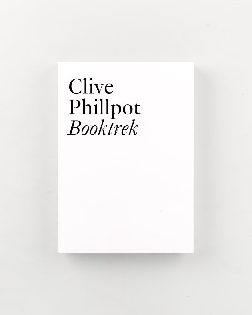 Booktrek by Clive Phillpot - 489