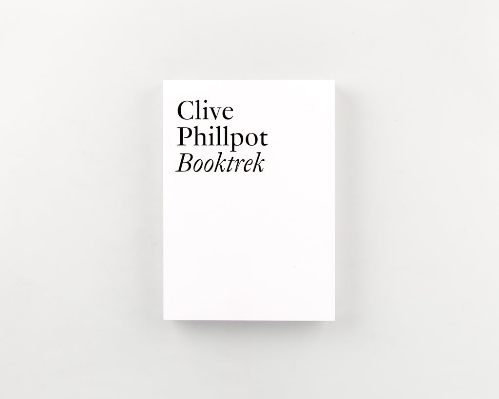 Booktrek by Clive Phillpot - Cover