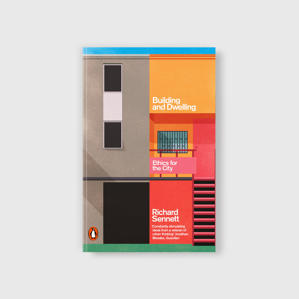Building and Dwelling by Richard Sennett - Cover
