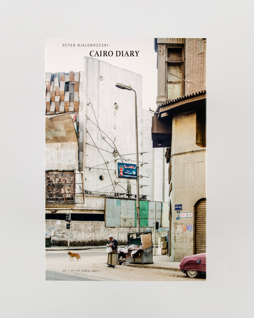 Cairo Diary by Peter Bialobrzeski - Cover
