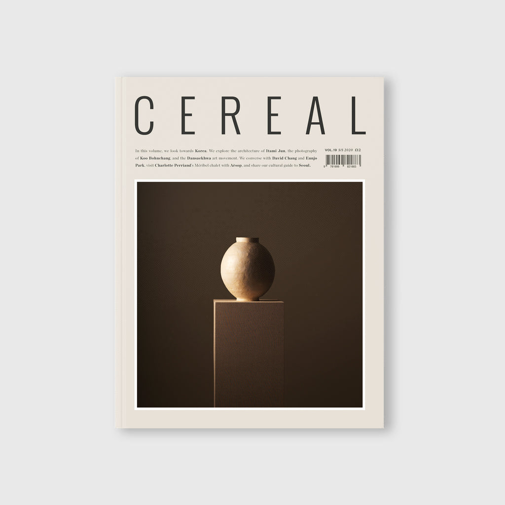 Cereal Magazine 19 - Cover