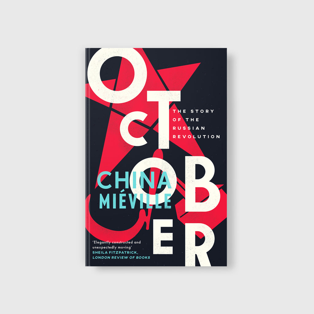 October by China Miéville - Cover