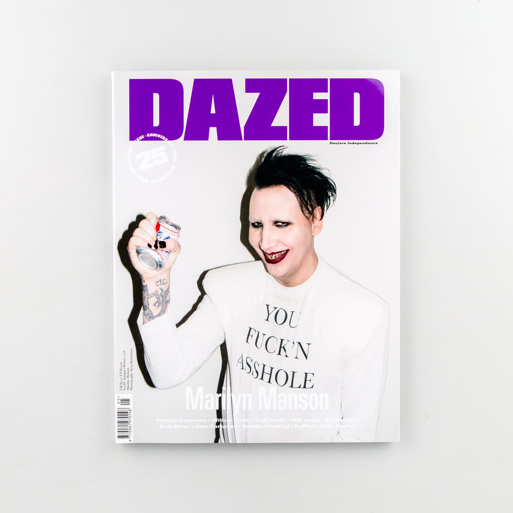 Dazed 25th Anniversary Issue - Cover