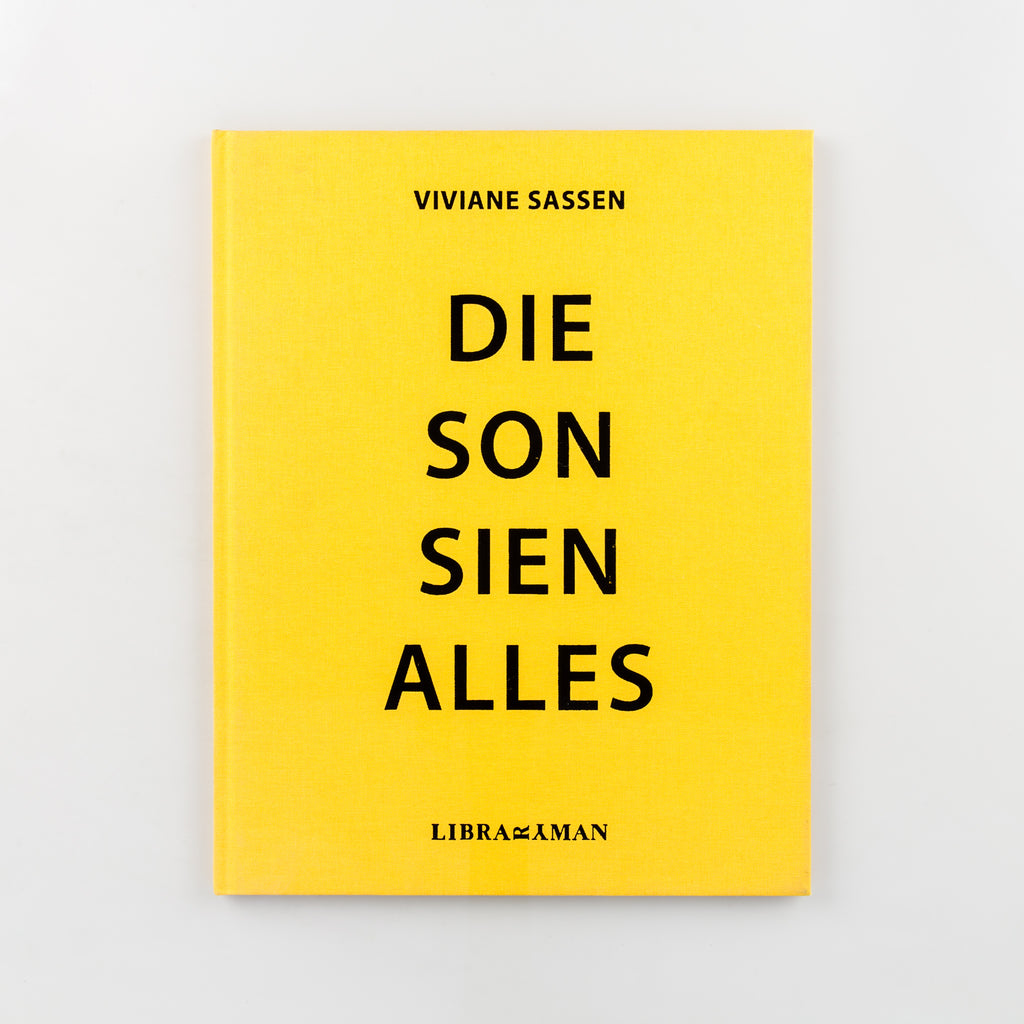 Die Son Sien Alles (Signed) by Viviane Sassen - Cover