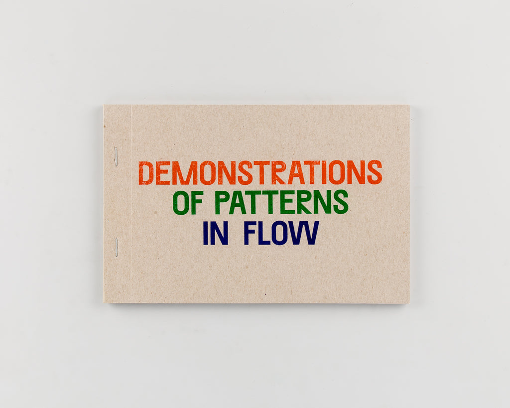 Demonstrations of Patterns in Flow by Oliver Griffin - Cover