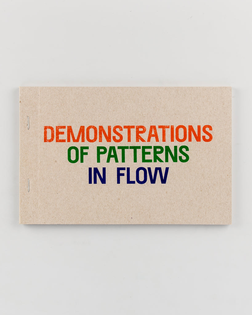 Demonstrations of Patterns in Flow by Oliver Griffin - 508
