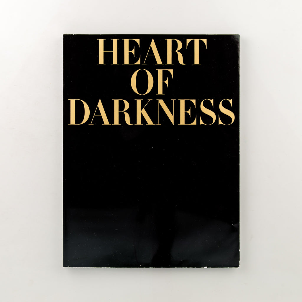Heart of Darkness by Joseph Conrad by A work by Fiona Banner, with photographs by Paolo Pellegrin - Cover