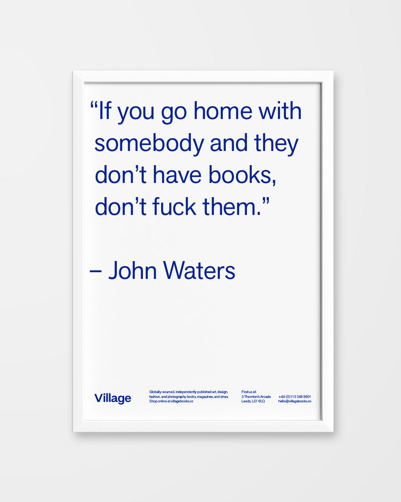John Waters A3 Riso Print - 446