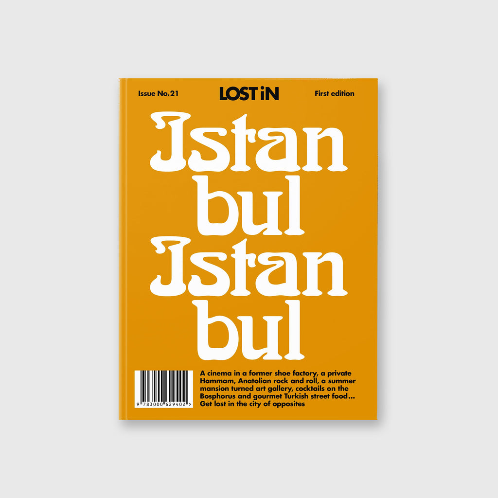 LOST iN: Istanbul (Preorder) by LOST iN City Guides - Cover