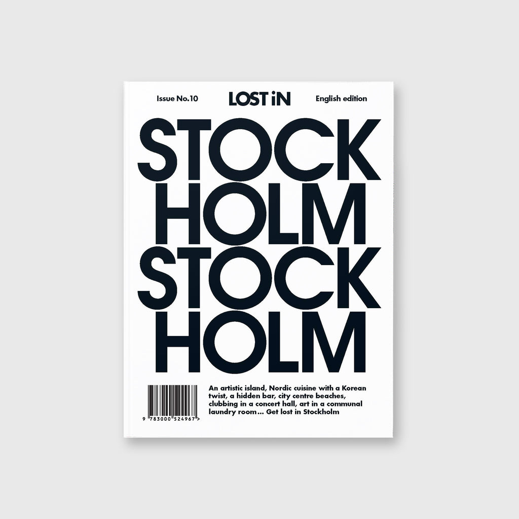 LOST iN: Stockholm by LOST iN City Guides - Cover