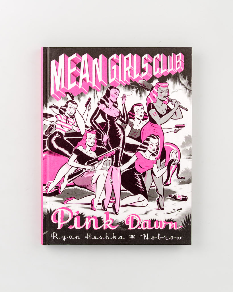 Mean Girls Club: Pink Dawn by Ryan Heshka - 3