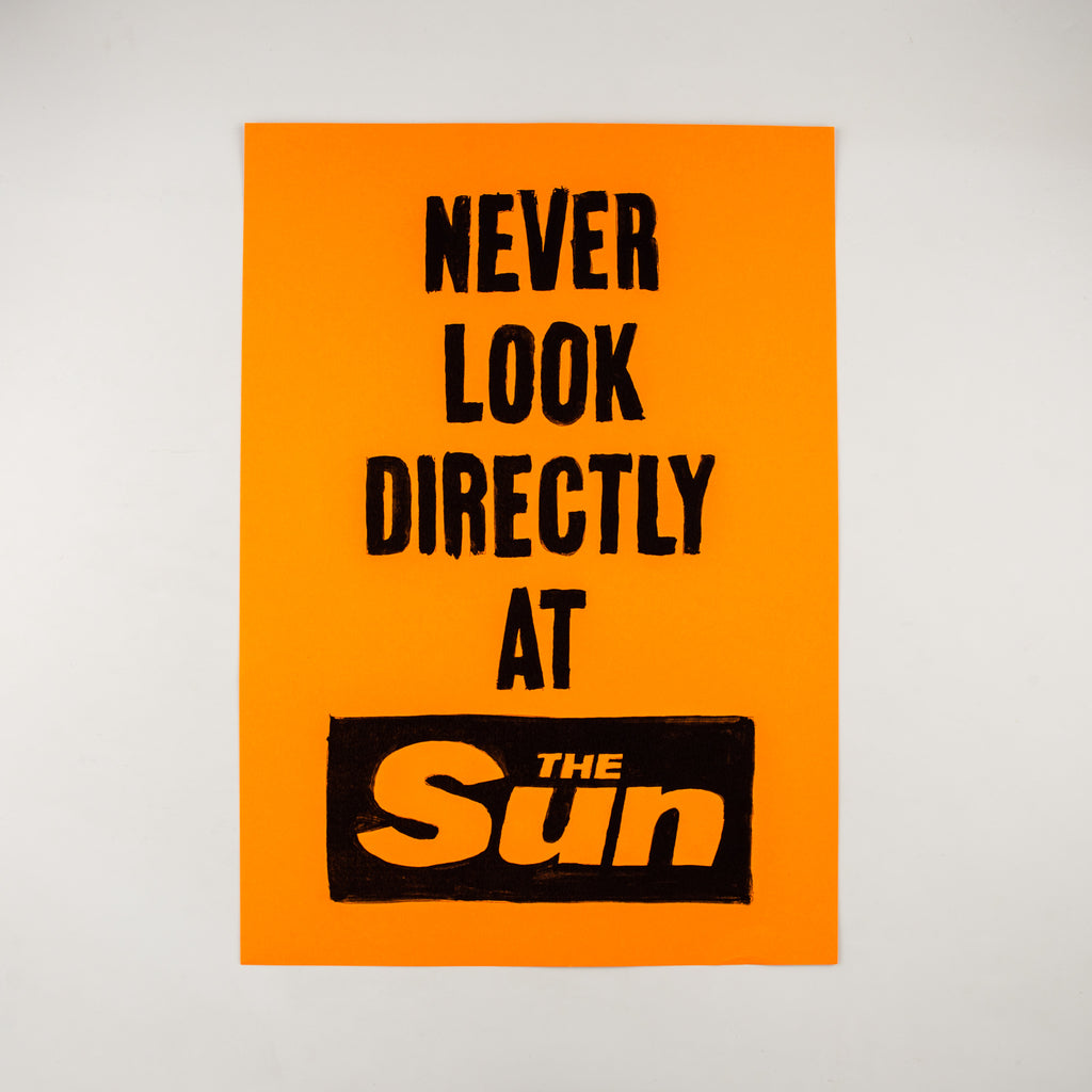 Never Look Directly at The Sun by Hats Richardson - Cover