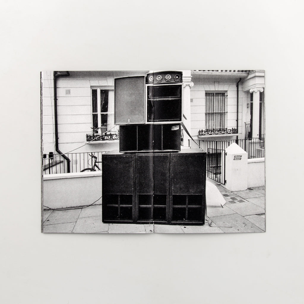 Notting Hill Soundsystems by Brian David Stevens - Cover
