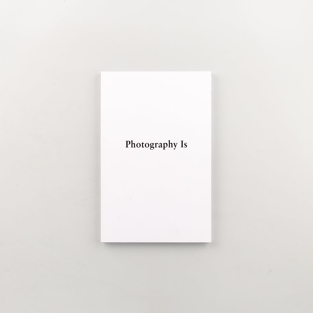 Photography Is by Mishka Henner - Cover