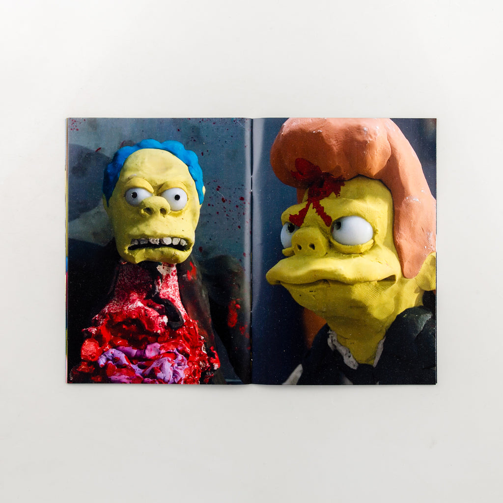 The Simpsons Couch Gag Zine Volume 2 by Lee Hardcastle - 5