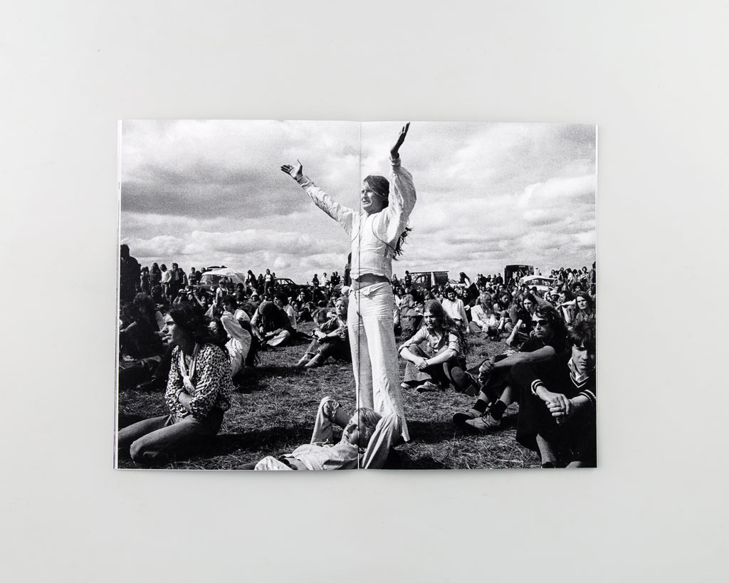 Stonehenge 1970s Counterculture by Homer Sykes - 3
