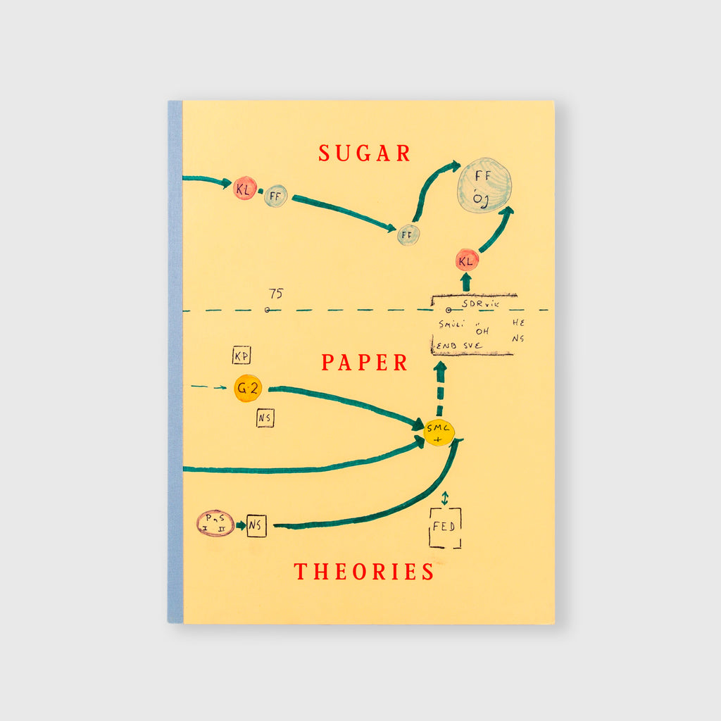 Sugar Paper Theories (Signed) by Jack Latham - 1