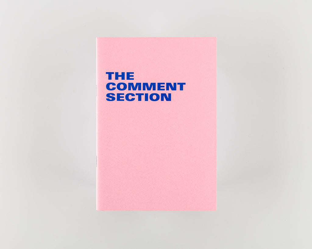The Comment Section by Rory Blakemore - 742