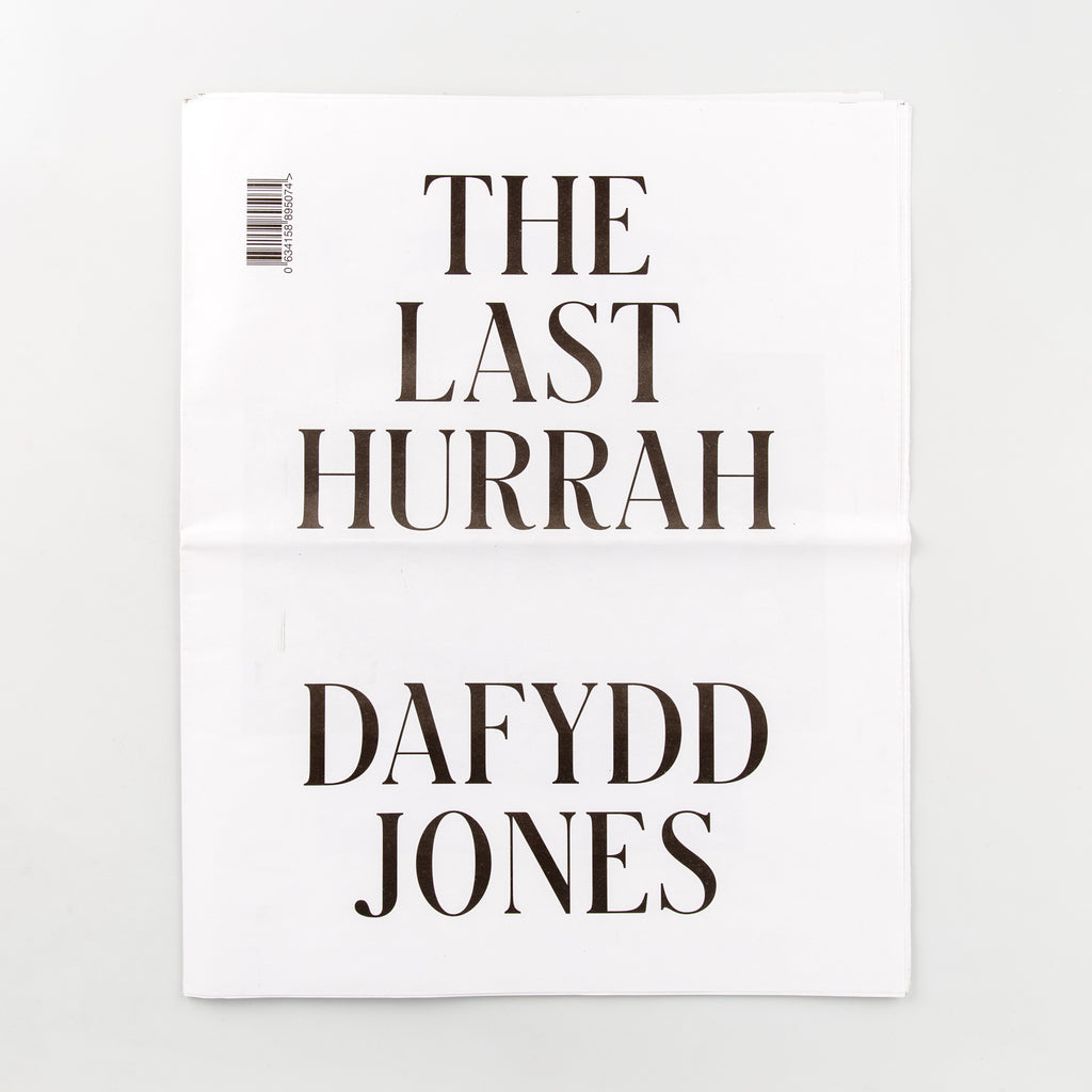 The Last Hurrah by Dafydd Jones - 167