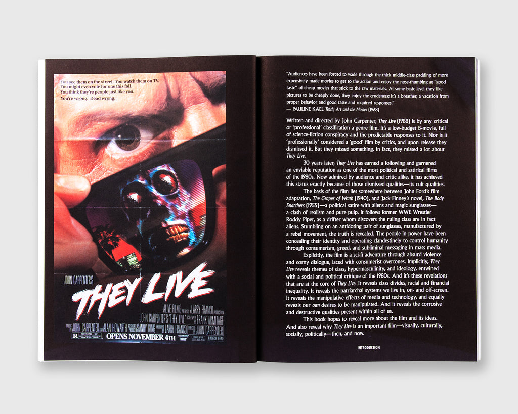They Live: A Visual & Cultural Awakening (Craig Oldham / Rough Trade Books, 2019)