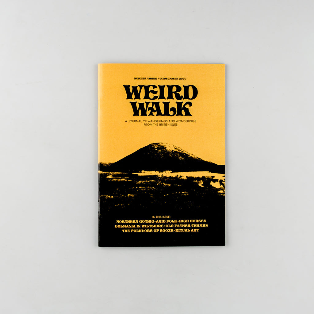 Weird Walk Magazine 3 - Cover