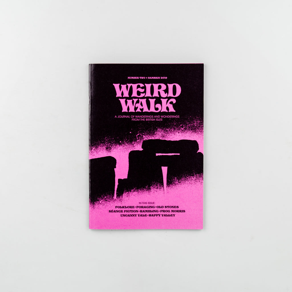 Weird Walk Magazine 2 - Cover
