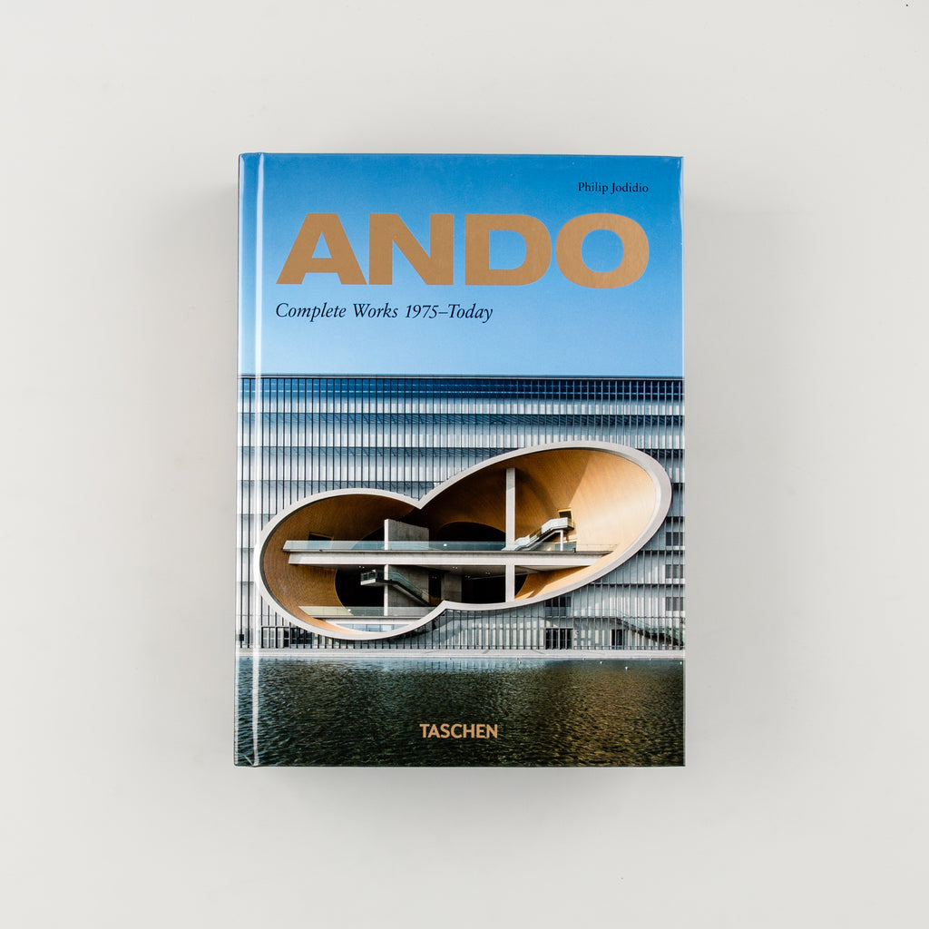Ando: Complete Works 1975-Today by Tadao Ando - Cover