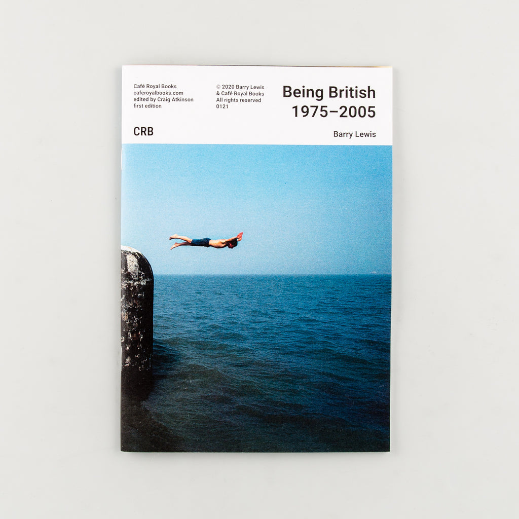 Being British 1975–2005 by Barry Lewis - Cover