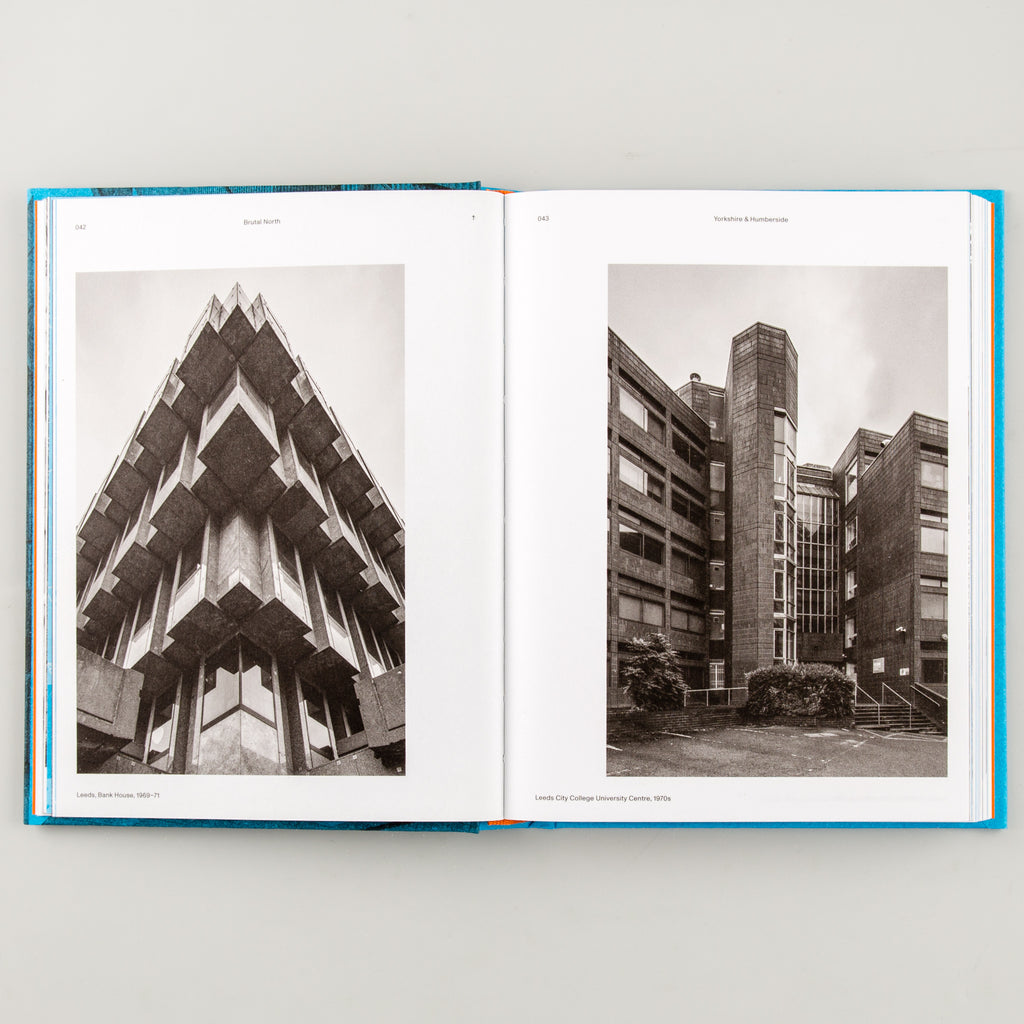Brutal North: Post-War Modernist Architecture in the North of England by Simon Phipps - Cover