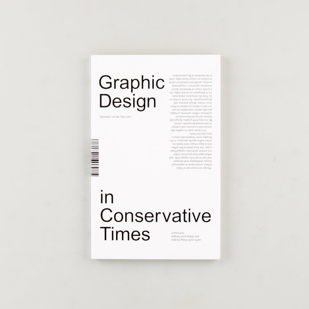 Design in Conservative Times by Joannette van der Veer - Cover