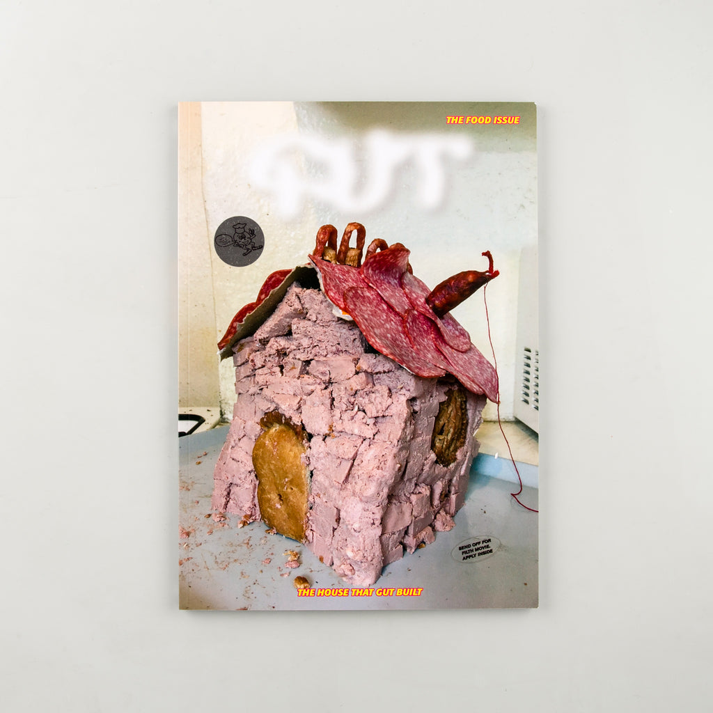 Gut Magazine 3 - Cover