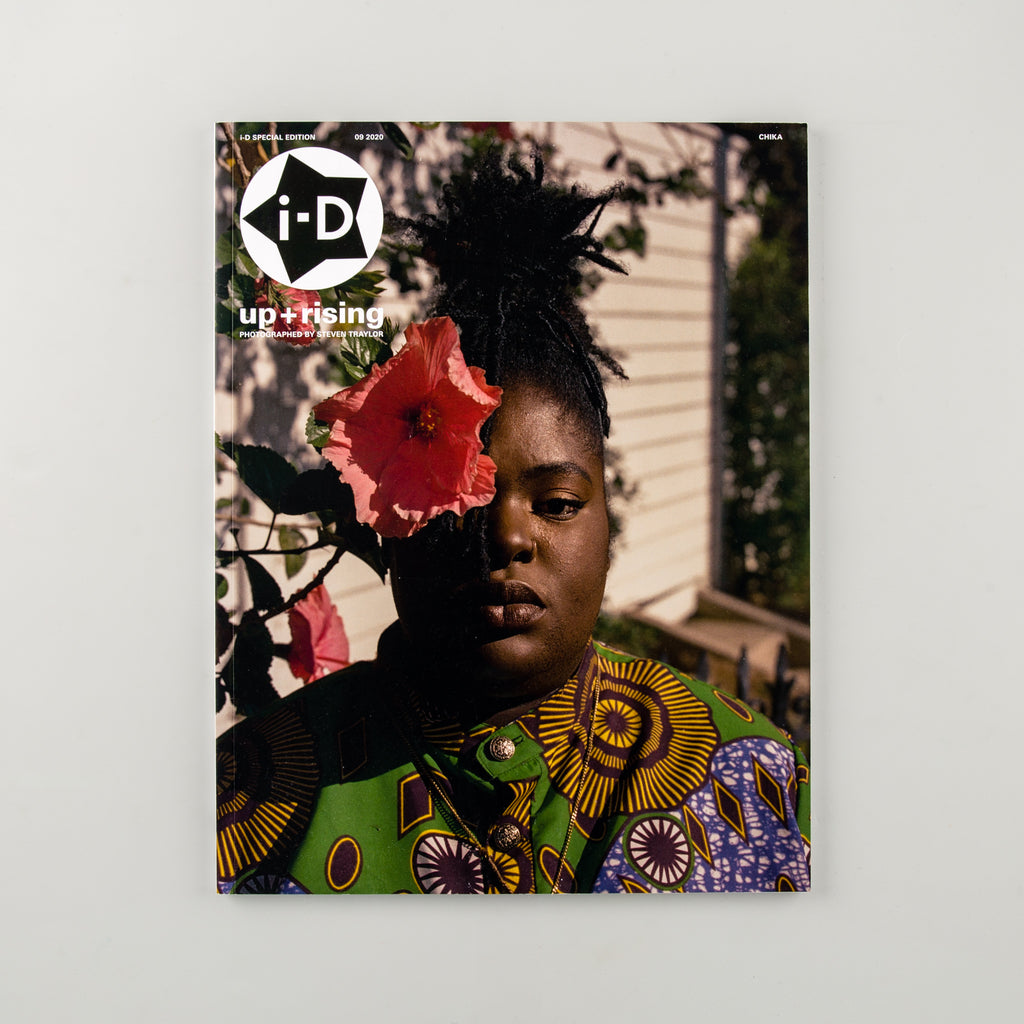 i-D up + rising Zine - Cover