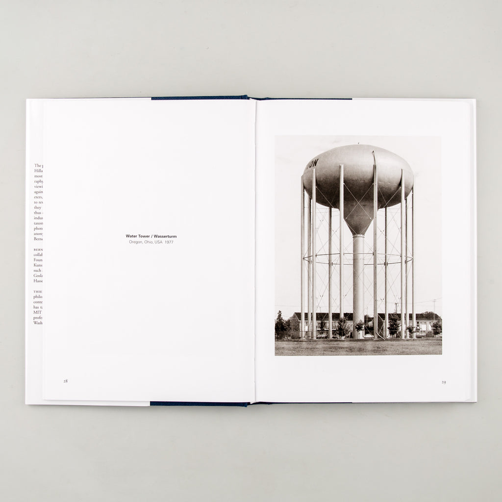 Basic Forms by Bernd & Hilla Becher - Cover