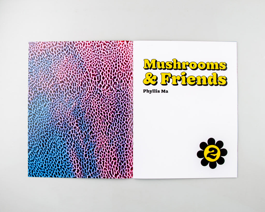 Mushrooms and Friends Zine 2 by Phyllis Ma - 4